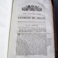 1798  94 Government Acts Passed in the 38 Year of the Reign of King George the Third (8 of 8)