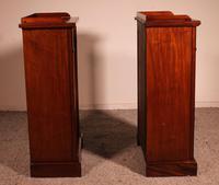 Pair of Open Bookcases 19th Century - William IV (7 of 10)