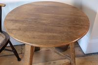 Late 18th Century Oak Cricket Table (10 of 20)