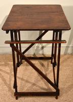 """Campaign Table Easel """"Hatherley"""" Patent (4 of 5)"""