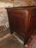 Jacobean Paneled Oak Coffer (3 of 7)