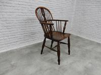 19th Century Windsor Lowback Armchair (5 of 7)