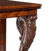 Regency Mahogany Console Table (5 of 8)