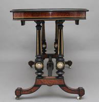 19th Century Amboyna & Ebonised Sofa Table (6 of 11)