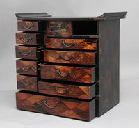 19th Century Japanese parquetry and lacquered cabinet (10 of 11)