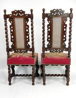 Fine Set of Four Late 17th - Early 18th Century Walnut Chairs (12 of 14)