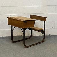 Old English School Desk (3 of 4)