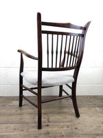 Antique 19th Century Spindle Back Chair (3 of 13)
