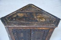 Grained Carved Rustic Hanging Cupboard (12 of 12)