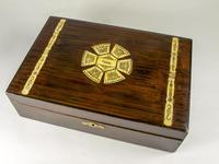 Danish Edwardian Rosewood Jewellry Box