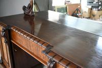 Victorian Mahogany Twin Pedestal Sideboard (9 of 12)