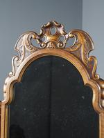 Queen Anne Style Walnut Mirror by Whytock & Reid c.1900 (5 of 12)