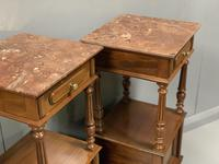 Pair of French Walnut Bedside Cabinets (3 of 8)