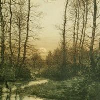 'Moonrise' Colour Etching by Eugène Delâtre (2 of 8)