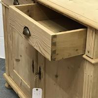 Large Old Pine Dresser Base (5 of 5)