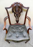 Set of 8 Mahogany Dining Chairs - H. Samuel, London (4 of 8)