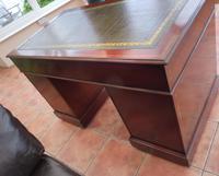 Howard & Sons Double Pedestal Desk c.1890 (7 of 13)