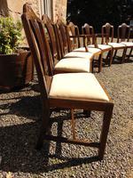 Set of 8 Hepplewhite Style Mahogany Dining Chairs (6 of 12)