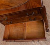 Bureau Mahogany Writing Desk Chest 19th Century Victorian (8 of 14)