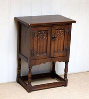 Oak Side Cabinet (4 of 9)