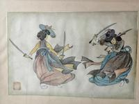 Lovely 19th Century Chinese Watercolour (2 of 6)