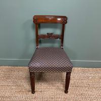 Superb Quality William IV Set of Six Mahogany Antique Dining Chairs (5 of 9)