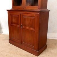 Teak Glazed Library Bookcase (8 of 11)
