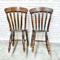 Fine Pair of Windsor Lathback Side Chairs (4 of 5)