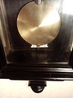 Ebonised Vienna Wall Clock. Gebruder Resch (7 of 7)