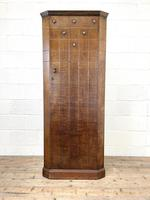 Early 20th Century Antique Oak Hall Cupboard (2 of 9)