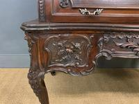 Maple and Co. Large Mahogany Cylinder Desk (12 of 25)