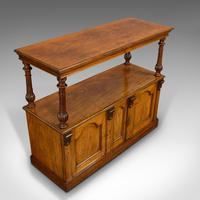 Large Antique Buffet, English, Walnut, Server, Sideboard, William IV c.1830 (5 of 12)