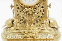 Monumental French Ormolu Mantel Clock Huge Classic 8 Day Striking Mantle Clock (8 of 14)