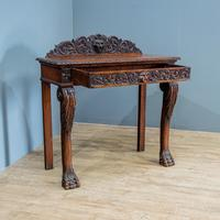 Victorian Carved Console Table (2 of 6)