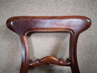 Set of Six Mahogany Dining Chairs In The Victorian Style (2 of 10)