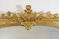 19th Century Gilt Overmantle Mirror (3 of 12)