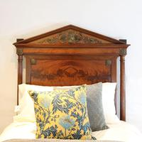French Empire Style Mahogany Antique Bed (5 of 7)