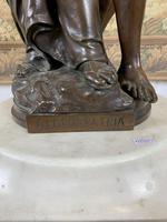 Stunning Large Bronze Group 'Gloria Patriae' by Eugene Marioton (5 of 9)