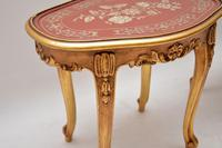 Pair of Antique French Style Giltwood Side Tables (5 of 10)