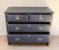 Pitch Pine Painted Chest of Drawers (8 of 11)