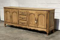 French Bleached Oak Sideboard or Dresser Base (3 of 23)