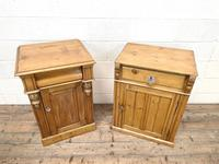 Two Similar Antique Pine Bedside Cupboards (2 of 10)