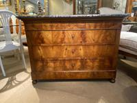 French Burr Walnut Commode (4 of 6)