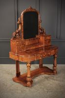 Victorian Figured Walnut Dressing Table (9 of 17)