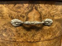 Queen Anne Burr Walnut Kidney Dressing Table (12 of 17)