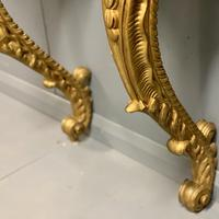 Pair of 19th Century French Gilt Console Pier Tables (5 of 13)