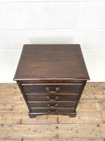 Early 20th Century Oak Four Drawer Chest (3 of 7)