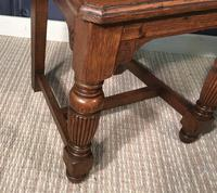 Pair of Victorian Oak Hall Chairs (15 of 17)