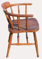 Victorian Elm Captains Chair (3 of 5)