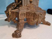 Pair of Italian Candelabra in Brass with Cherubs Vintage (4 of 8)